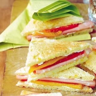 Mortadellasandwiches